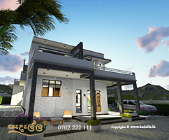 Four bedroom two Story Modern home design with Great Upper Floor plan and ultimate accommodations