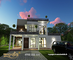 Exciting, cutting edge Modern Architectural house design.Upstairs with beautiful flexible loft, very large Bedroom suite