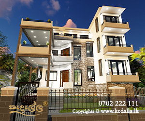 New three story luxury House Plans designed by top reviewed leading chartered architects in Sri Lanka