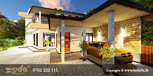 4 bedroom house plan designed by best town planners urban planners top architects in Kandy