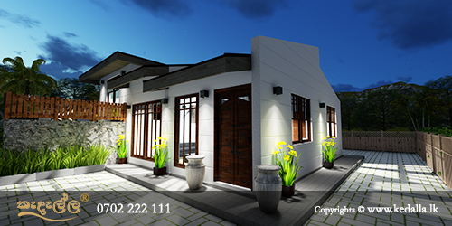 Leading house architects in Kandy designed house plan with perfect combination of functionality aesthetics individuality