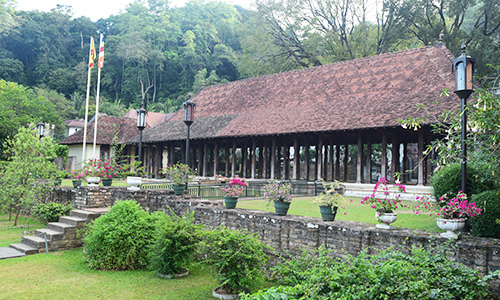 Historical Landscape Architecture and Building Architecture at Dalada Maligawa, Kandy