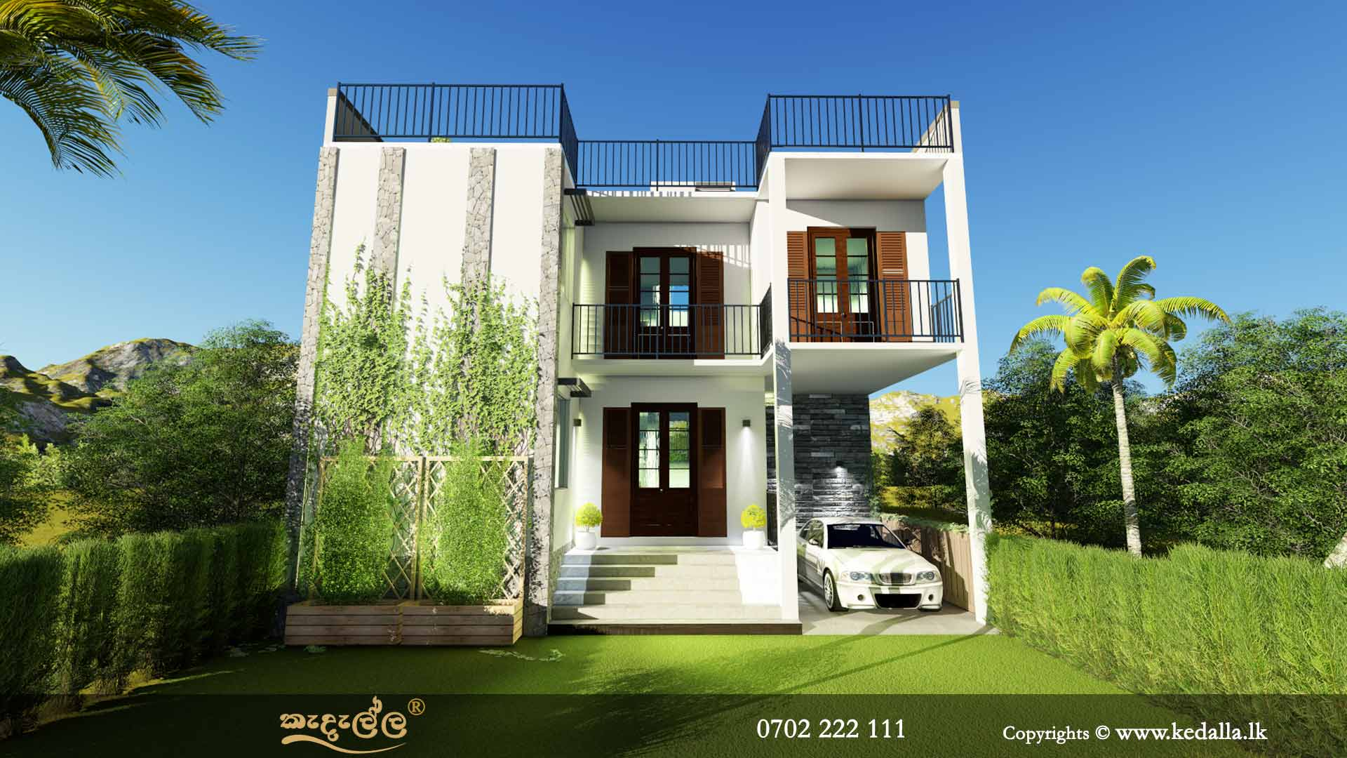 An architect in sri lanka designed luxury box type house plan - 22+ Small House Box Type Design  Pictures