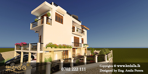 Sri Lanka's most famous contemporary architects designed most beautiful elegantly decorated contemporary house designs