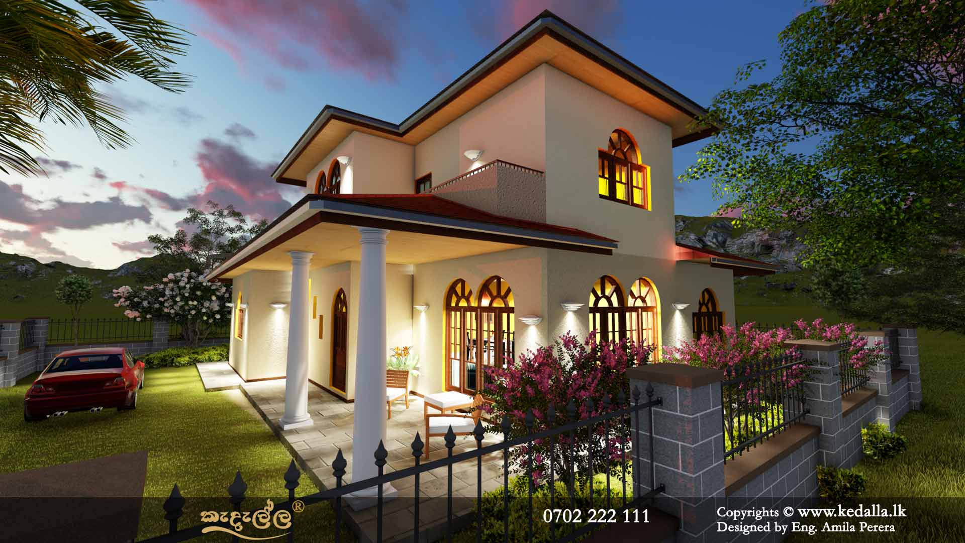 2 Story House Plans & Design 3D Two Story Home Plans